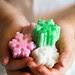 Zollette di zucchero aromatizzate colorate