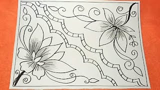 Batik Simple Bunga Tulisanviralinfo