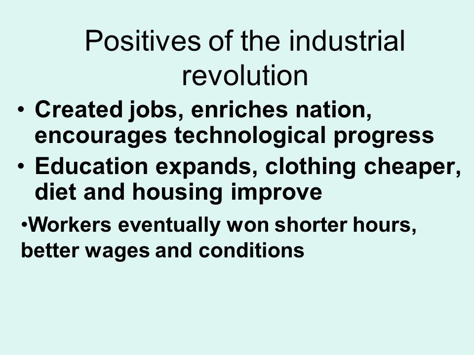An Essay On George Wills Quote And The Industrial Revolution