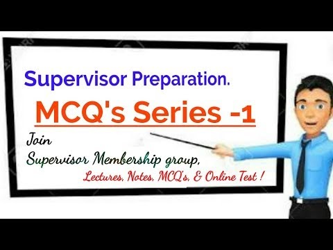 Social Welfare Supervisor MCQ's Series-1| Important MCQ's for Supervisor Exam Preparation