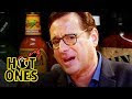 Bob Saget Hiccups Uncontrollably While Eating Spicy Wings Hot Ones