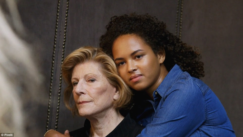 Agnes Gund, left, and Sadie Rain Hope-Gund, right, share an interest in the arts. Agnes Gund is Sadie's grandmother and a pre-eminent art collector and patron. Sadie is a student at Brown University in Providence, Rhode Island, where she studies photography and media