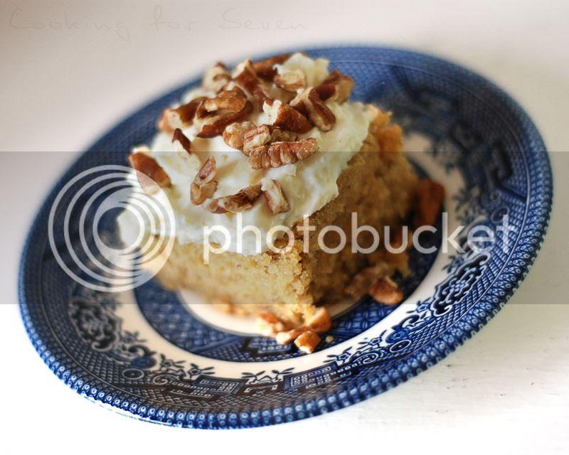 Maple & Pecan Banana Cake