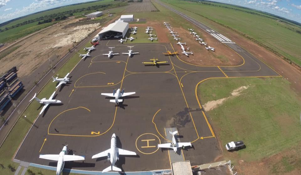 Aeroporto municipal de Água Boa registra aumento de 70% de passageiros em 2017