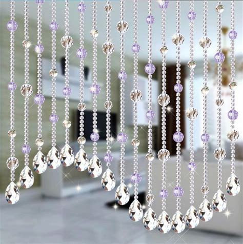 Wedding Party Home Decorations Arylic Crystal Beads Rope