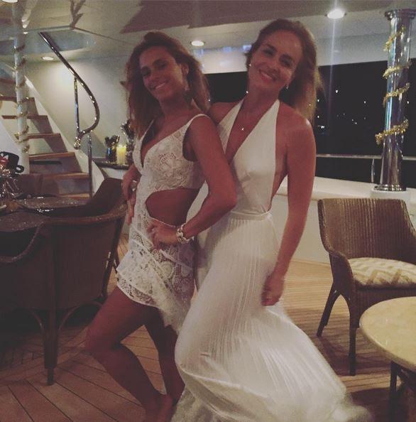 Carolina Dieckmann e Angélica (Foto: Reprodução/Instagram)