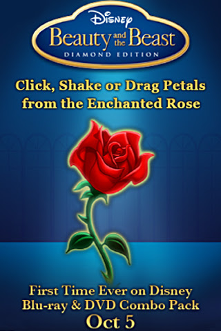 Disneys Beauty And The Beast Enchanted Rose App For Free Iphone