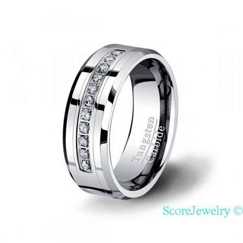 40 best Ladies and Mens Tungsten Rings images on Pinterest