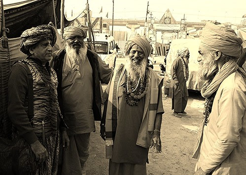 The Naga Sadhus of Juna Akhada Maha Kumbh by firoze shakir photographerno1