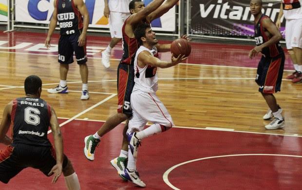 Basquete Flamengo x Brasília NBB (Foto: Fernando Azevedo / FlaImagem)