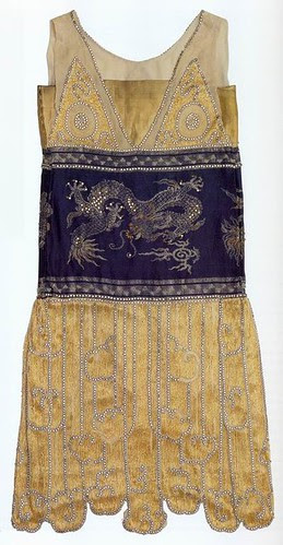 Jeanne Paquin, Chimère, evening gown, 1925