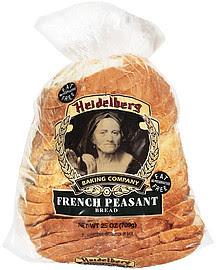 Heidelberg Baking Co. Bread Sliced French Peasant 25.0 Oz ...