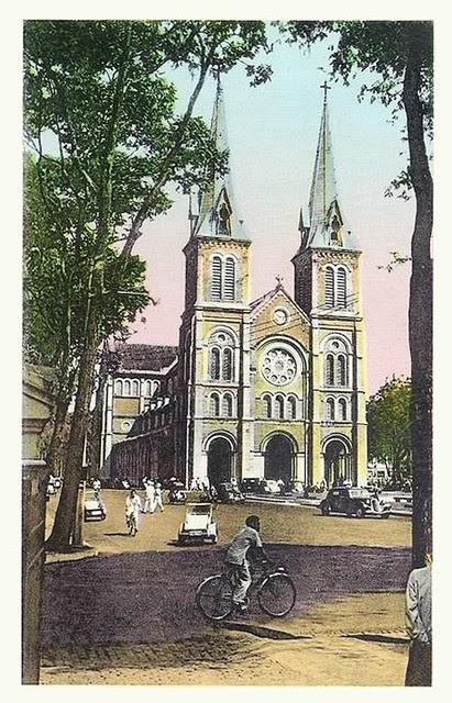 SAIGON - la cathédrale