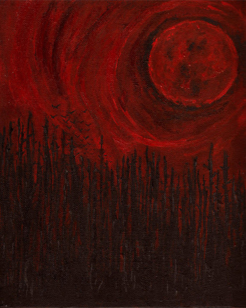 lunasabatica:  Bloodmoon by James  The moon is rising over Oasis. Bodies are rising from their graves. Soon the town will be under siege. Under siege from THE DEAD. Flee or hide. Those are the only choices. THE DEAD GAME by Susanne Leist