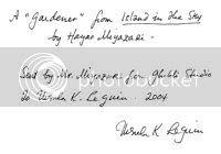 LeGuin Note