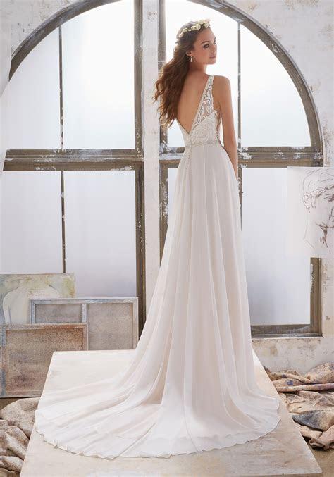 Marjorie Wedding Dress   Style 5505   Morilee