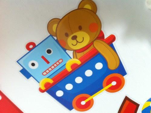 Robot! With bear!