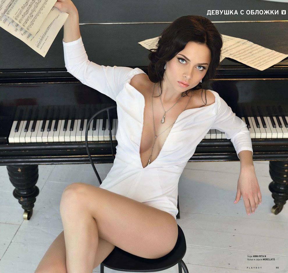 """Настасья Самбурская в """"Плейбой"""""""