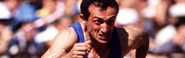 """Pietro Mennea, morto il campione che """"bruciava"""" le macchine da corsa"""