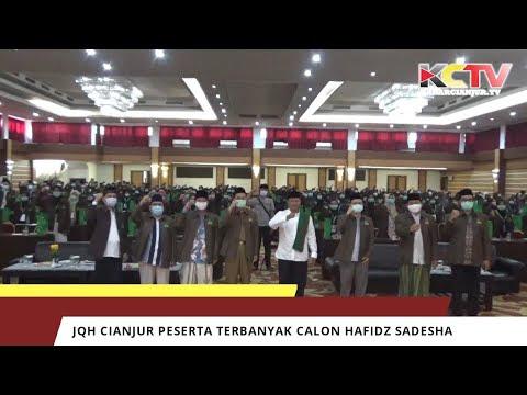 JQH NU Cianjur Peserta Terbanyak Calon Hafidz Sadesha