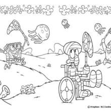 76 Cartoon Coloring Pages Patrick Star  Images