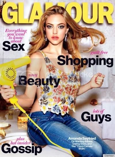 Glamour March 2012 Cover Amanda Seyfried