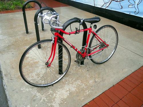 Panasonic bike at Shirlington