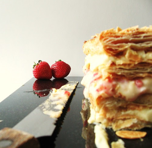 Strawberry&Camomile Mille Feuille