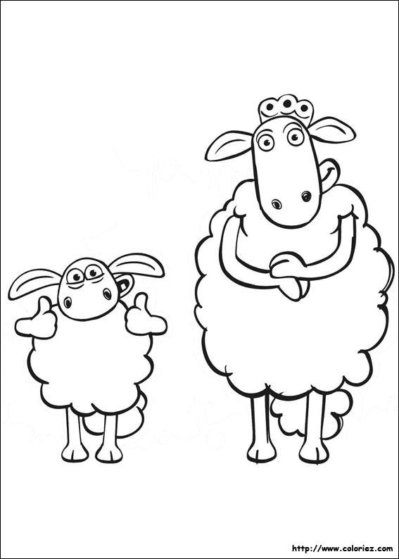 Index Of Imagescoloriageshaun Le Mouton