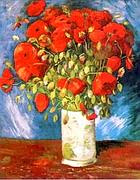 Il quadro di Van Gogh 'I Papaveri'