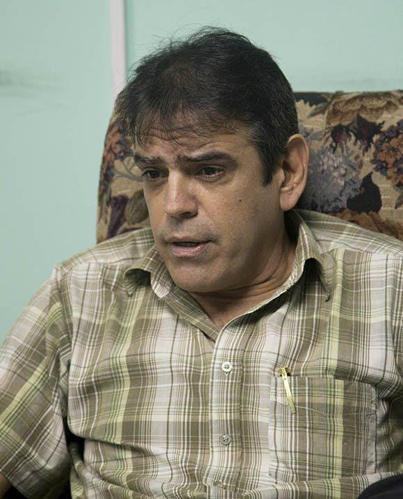 Abel Rivero, al momento de la entrevista era Jefe del Departamento de Empleo y Salario de la Dirección Nacional de la Central de Trabajadores de Cuba (CTC). Foto: Ismael Francisco/ Cubadebate.