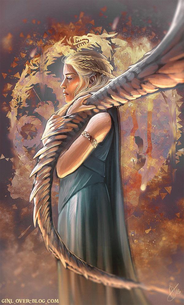 Daenerys by Ginl Delphine