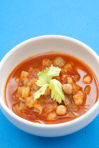 Moroccan chickpea soup / Maroko kikerhernesupp