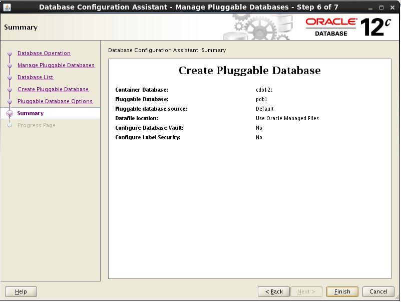 Create PDB 5