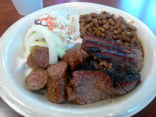 Brisket and Sausage Plate