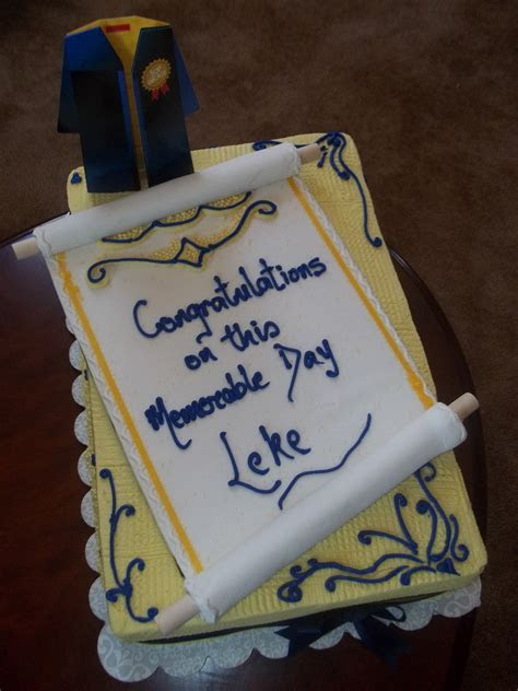 Amazing Cakes by Ade: Graduation Cake