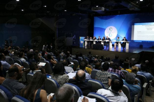 The 8th World Water Forum began on Monday, Mar. 19, in the Ulysses Guimarães Convention Centre in the capital of Brazil. Credit: EBC