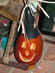 Halloween gourd