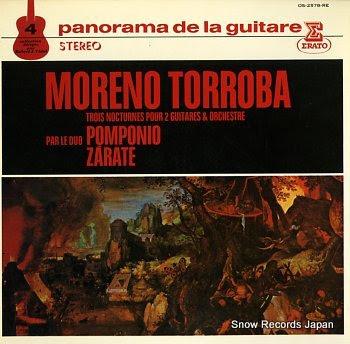 TORROBA, MORENO panorama de la guitare