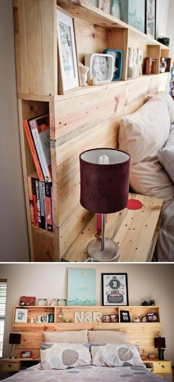 17 Headboard Storage Ideas for Your Bedroom - Amazing DIY ...