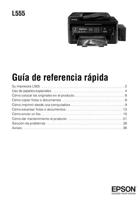 Como Realmente Conectar En Linea Una Impresora Epson L555