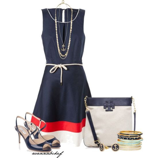 """Nautical"" by wannabchef on Polyvore"