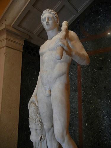 DSCN7353 _ The Lansdowne Herakles, Roman, c. A.D. 125, Getty Villa, July 2013