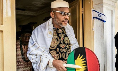 I Rejected Biafra With Only 5 Igbo States, I Want Rivers, Benue Too– Nnamdi Kanu
