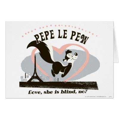 Pepe Love, She Is Blind, No? - Funny Valentine's Day Card