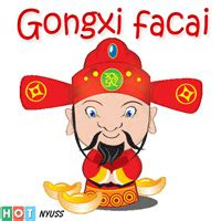 gambar status wa imlek gong xi fa cai bergerak lucu