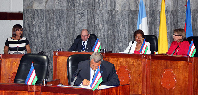 Alcaldesa (e) instaló sesiones ordinarias del Concejo