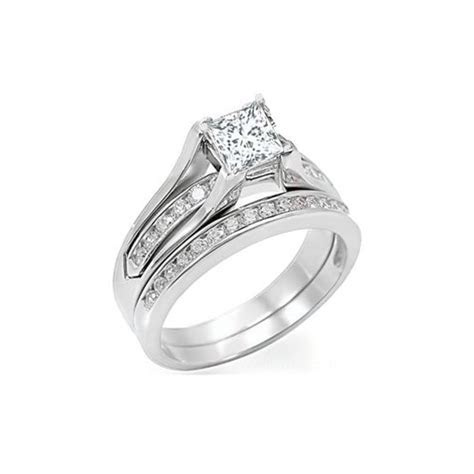 wedding set, diamond wedding set, bridal set