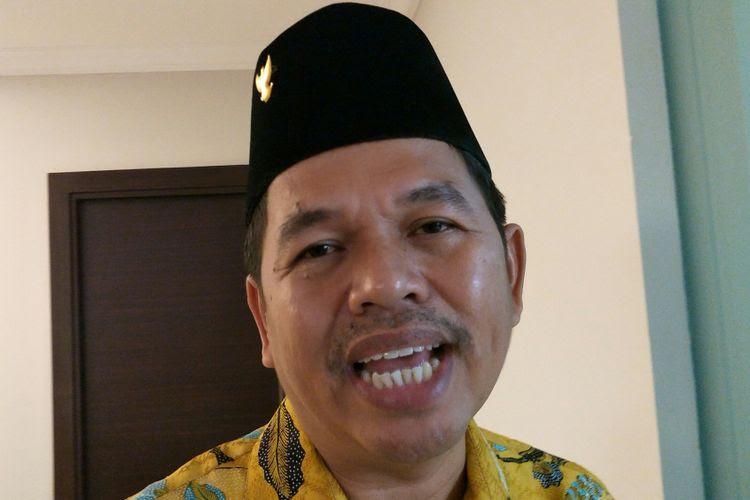 Ketua Dewan Pimpinan Daerah Golkar Jawa Barat Dedi Mulyadi ketika ditemui di kantor DPP Golkar, Jakarta Barat, Senin (20/11/2017).