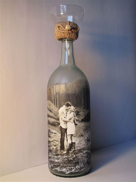 Personalized Sand Ceremony Bottle, Custom Order Hand